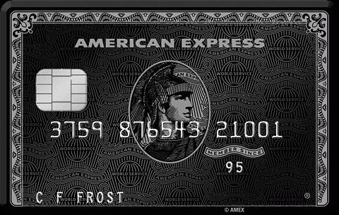 American Express Centurion Maxrewards